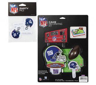 NFL New York Giants Cake Decorating Kit —
