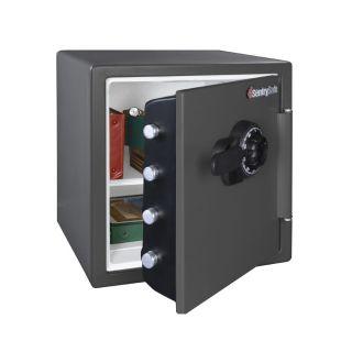 SentrySafe 1.23 cu ft Combination Fire Safe