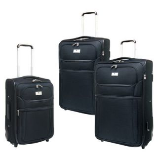 Travelers Club 3 Piece Olso Exp Luggage Set