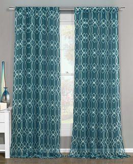 Duck River Textile Newbella 51 x 84 Semi Sheer Pair of Panels