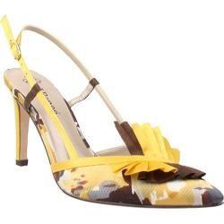Renee Womens Saffron Ochre Multi Fabric/Satin   14679979
