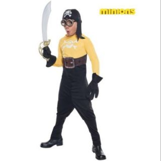 Minion Pirate Costume for Kids   Size M