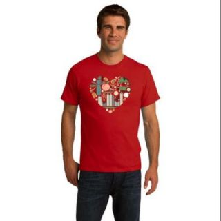 Georgia Icon Heart   Georgia Love Atlanta Culture Southern Pride Unisex T shirt