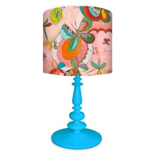 Butterfly Silhouette Girl 15 H Table Lamp by Meyda Tiffany