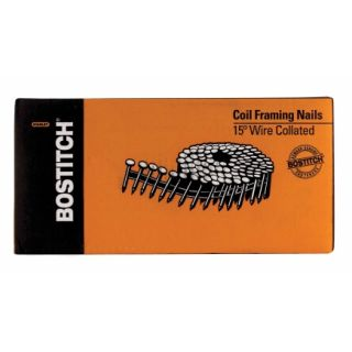 Stanley Bostitch® Coil Nails (C10P131D)   Deck & Roofing Fasteners