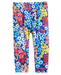First Impressions Baby Girls Garden Floral Print Leggings, Only at