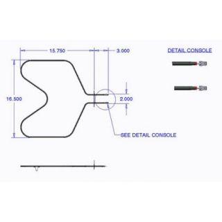 Range Kleen Bake Element Wall Oven and Range for Whirlpool Brands