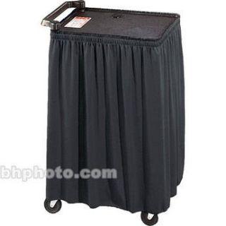 Draper Skirt for Mobile AV Carts/Tables   30 x C168.195