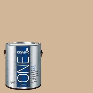 Olympic ONE Pony Tail Flat Latex Interior Paint and Primer In One (Actual Net Contents: 124 fl oz)