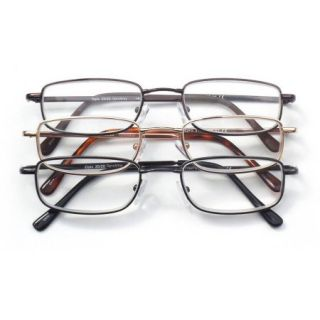 Optx 2020 3 Pair ValuPac Alloy Reading Glasses, 3.50