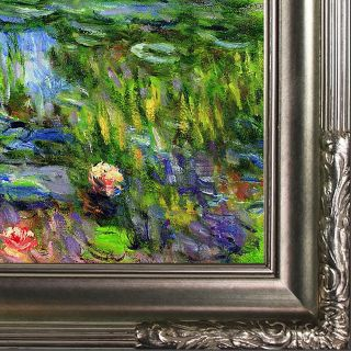 Tori Home Water Lillies by Claude Monet Framed Painting Print