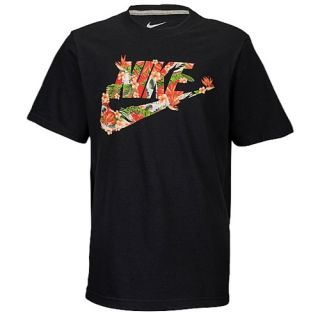 Nike Graphic T Shirt   Boys Grade School   Casual   Clothing   Black/Orange