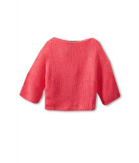 United Colors Of Benetton Kids Girls Short Cropped Knit Sweater Little Kids Big