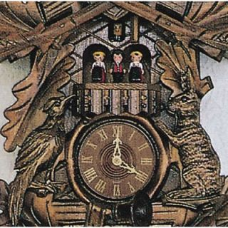 Traditional 8 Day Movement Musical Cuckoo Wall Clock by Schneider