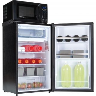 Safe Plug 3.6 cu. ft. Combination Mini Refrigerator and Microwave by