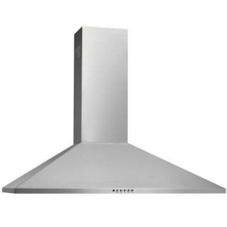 Frigidaire 36 in. Convertible Wall Mount Chimney Range Hood in Stainless Steel FHWC3655LS