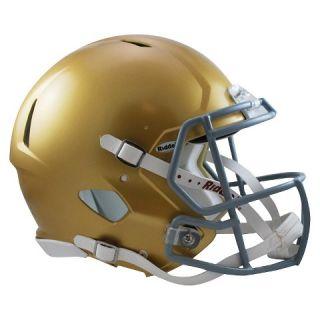 Notre Dame Fighting Irish Riddell Speed Authentic Helmet   Gold