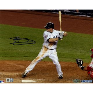 Brett Gardner Signed Home Batting 8x10 Photo ( MLB Auth)   18194349