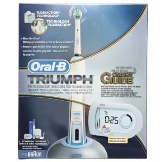 Oral B Triumph 9900 Toothbrush with Smart Guide   13960670
