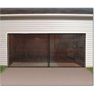 Double Car Garage Screen Enclosure Door