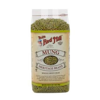 Bob's Red Mill   Mung Heritage Beans (27 oz) Whole Green Gram, bean sprouts