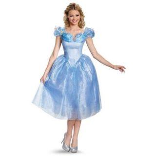 Womens Cinderella Deluxe Costume