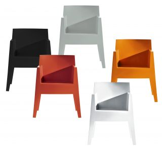 Toy Stackable armchair White by Driade