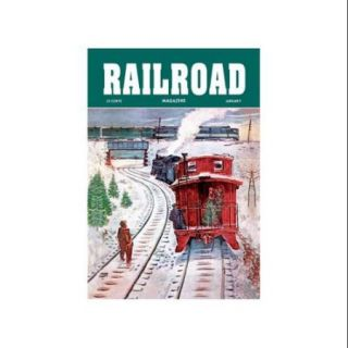 Railroad Magazine: December Trains, 1951 Print (Unframed Paper Print 20x30)