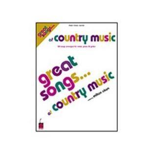 Hal Leonard Hal Leonard Great Songs of Country Music   TVs