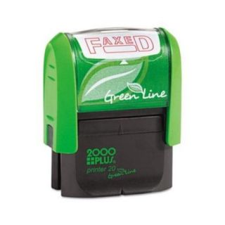 2000 PLUS Green Line Message Stamp COS098369