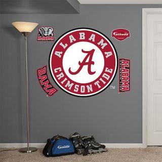 """NCAA Team """"Logo"""" Wall Decals by Fathead   U Of Alabama   7643553"""