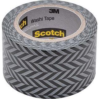Scotch Expressions Washi Tape, Zig Zag Pattern, 1 3/16 x 393