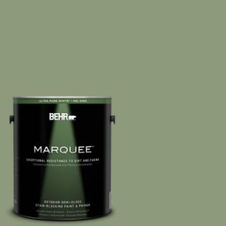 BEHR MARQUEE 1 gal. #ICC 76 Herbal Scent Semi Gloss Enamel Exterior Paint 545301