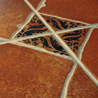 Toledo 17.75 x 17.75 Ceramic Field Tile in Cotto Brown by EliteTile