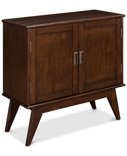 Simpli Home Kentler Low Storage Cabinet, Direct Ship   Furniture