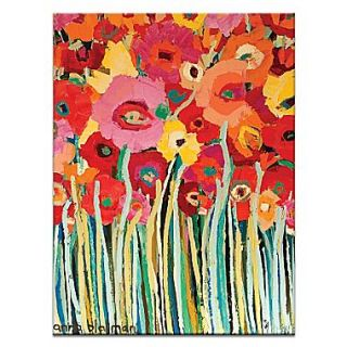 Artist Lane Spring Blooms by Anna Blatman Painting Print on Wrapped Canvas