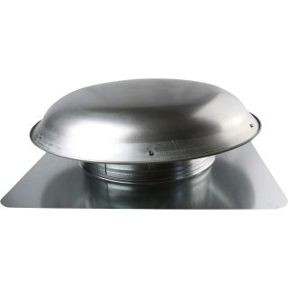 Cool Attic Power Roof Vent — 1400 CFM, Mill Finish, Model# CX3000EEAMUPS  Attic   Roof Vents
