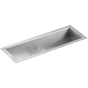 Kohler K 3179 NA Undertone Stainless Steel  Undermount Single Bowl Kitchen Sinks