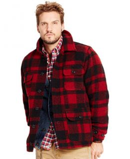 Denim & Supply Ralph Lauren Plaid Barn Coat   Men