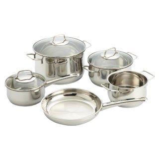 WMF Collier Stainless Steel Cookware Set   8 Piece 7497K 72