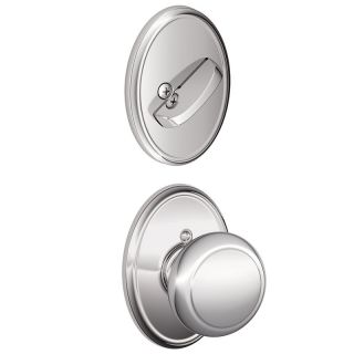 Schlage F94AND625WKF Bright Chrome
