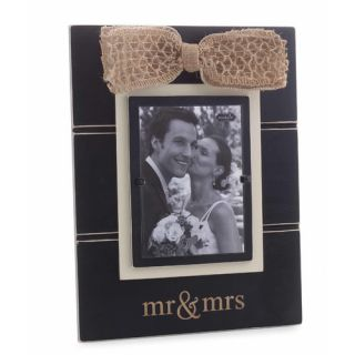 Mr & Mrs Picture Frame by Mud Pie™
