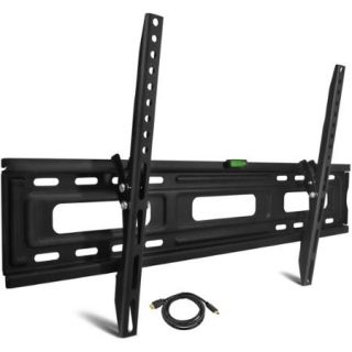 "Tilting TV Wall Mount for 24"" 84"" TVs with HDMI Cable, UL Certified"