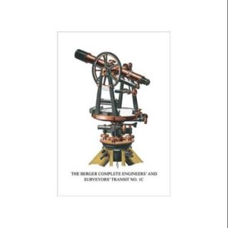 Berger Complete Engineers' And Surveyors' Transit No. 1C Print (Unframed Paper Print 20x30)