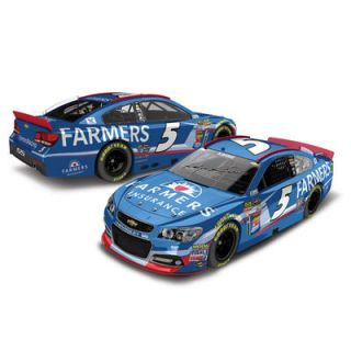 Action Racing Kasey Kahne 2014 Farmers Insurance Autographed 1:24 Scale Color Chrome Die Cast Chevy SS