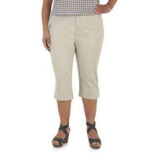 Riders by Lee Women's Plus Size Simply Comfort Capri