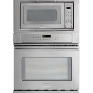 Frigidaire Gallery Self Cleaning with Steam Microwave Wall Oven Combo (Stainless Steel) (Common: 27 in; Actual 27 in)