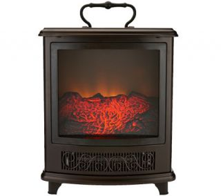 Duraflame Portable Stove Heater w/Handle & Flame Effect —