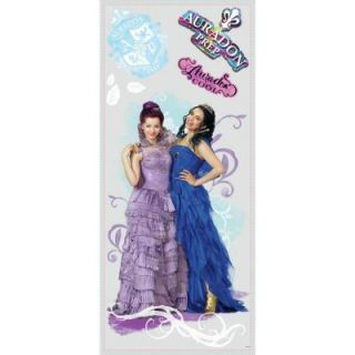 RoomMates 2.5 in. W x 21 in. H Descendants Mal and Evie 6 Piece Peel and Stick Wall Graphic RMK2853TB