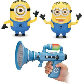 Despicable Me Toys   Fart Blaster with Your Choice Deluxe Dave or Stuart